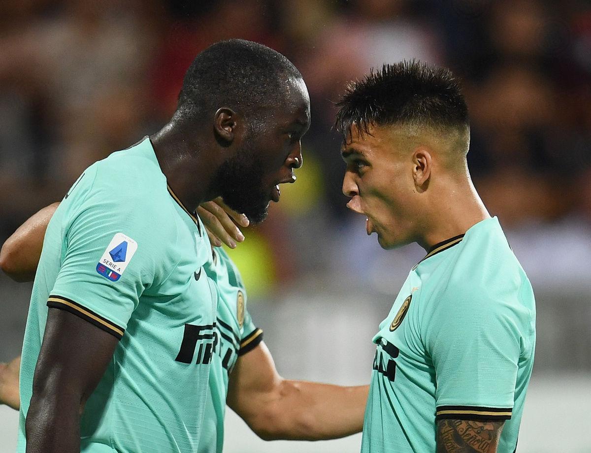 Lautaro + Lukaku, l'Inter passa a Cagliari!