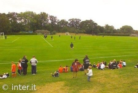 TRAINING PHOTOS FROM LEICESTER