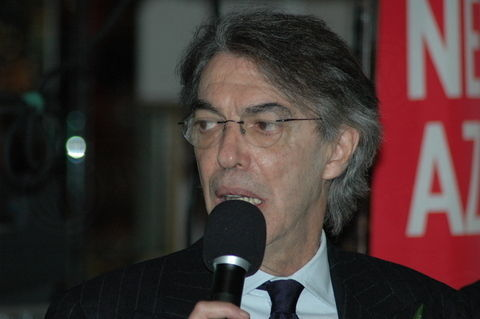 MORATTI VISITS INTER CLUB NEW YORK